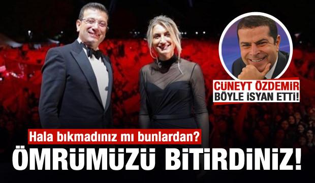 Cüneyt Özdemir'den 'Dilek İmamoğlu' isyanı