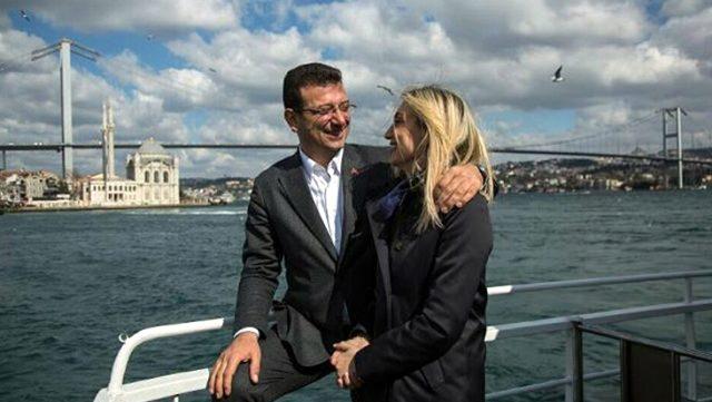 Ekrem İmamoğlu'ndan Dilek İmamoğlu'na ilan-ı aşk: Seni seviyorum ama belediyeyi de seviyorum