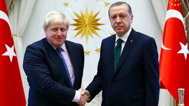Erdoğan, Boris Johnson'la telefonda görüştü! Gündem Doğu Akdeniz ve Azerbaycan-Ermenistan gerilimi