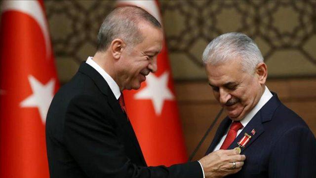 Erdoğan'dan koronavirüse yakalanan Binali Yıldırım ve eşine geçmiş olsun mesajı