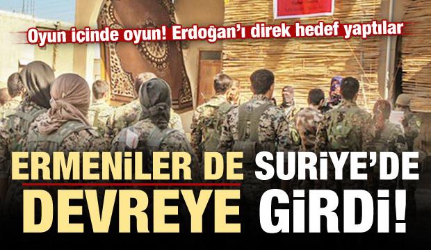 Ermeniler de devrede! Erdoğan'ı hedef gösterdiler
