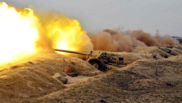 Ermenistan ordusu, Azerbaycan'ın Mingeçevir ve Terter şehirlerindeki sivil yerleşim alanlarını vurdu