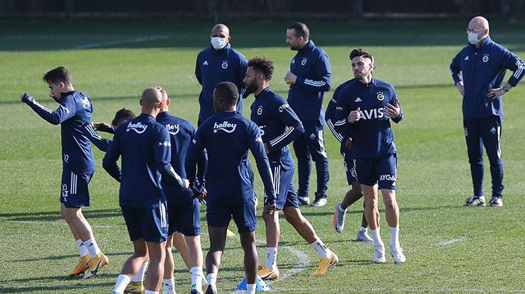 Fenerbahçe, Kasımpaşa maçı hazırlıklarını sürdürdü