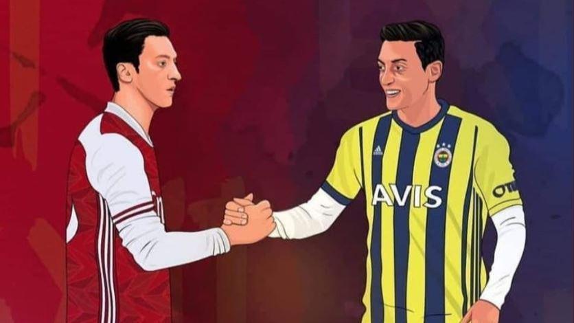 Fenerbahçe transfer | Arsenaldan Mesut Özil paylaşımı
