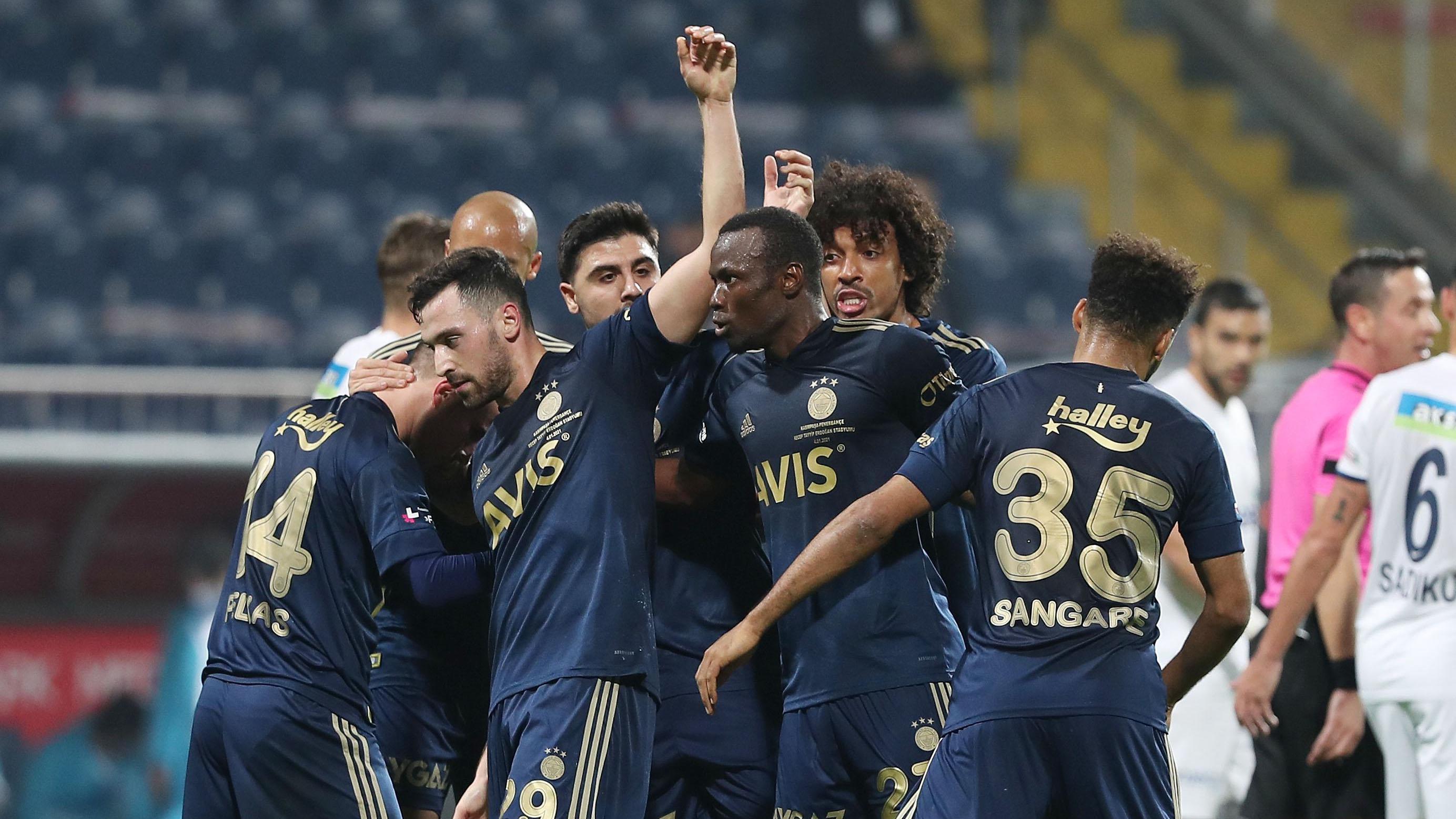 Fotoğraflarla Kasımpaşa - Fenerbahçe maçı!