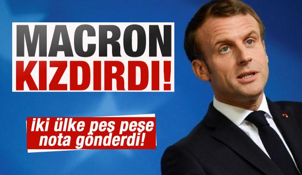 Fransa Cumhurbaşkanı Macron, Bulgaristan ve Ukrayna'yı kızdırdı