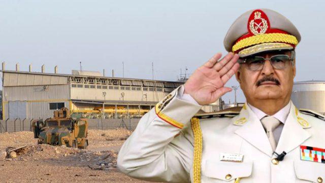 Hafter, Libya'da aylardır petrol üretimine uyguladığı blokajı kaldırdı
