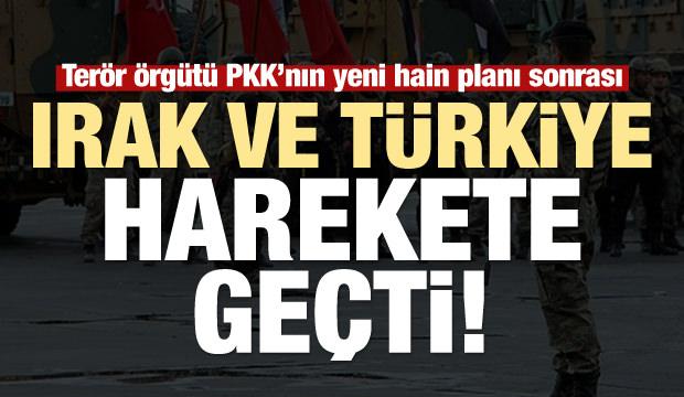 Irak ve Türkiye harekete geçti! PKK'nın hain planı sonrası...