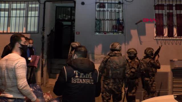 İstanbul'da DEAŞ operasyonu; 8 kişi gözaltına alındı