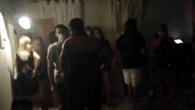 İzmir'de koronavirüse rağmen otel rezidansında parti 25 kişiye 78 bin lira ceza kesildi