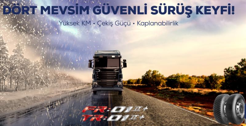 Kamyon ve otobüsler için Türkiye koşullarına özel olarak geliştirildi…