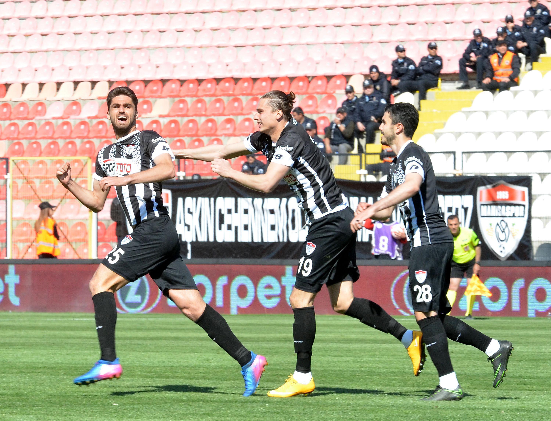 Manisaspor - Mersin İdmanyurdu maç sonucu: 2-0