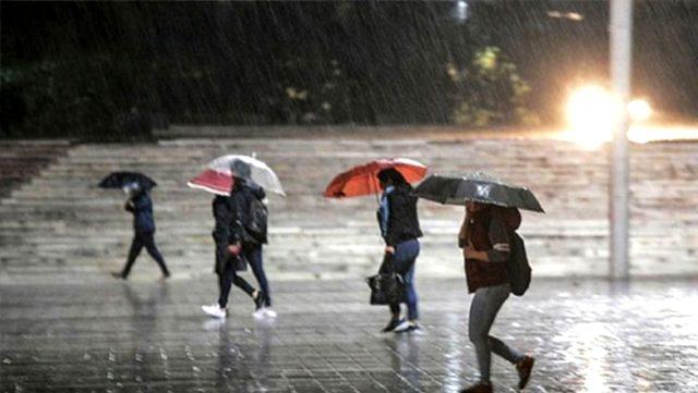 Meteoroloji, 5 il için kuvvetli sağanak yağış uyarısında bulundu