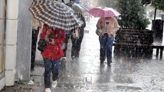 Meteoroloji, 9 il için sağanak ve gök gürültülü sağanak uyarısında bulundu