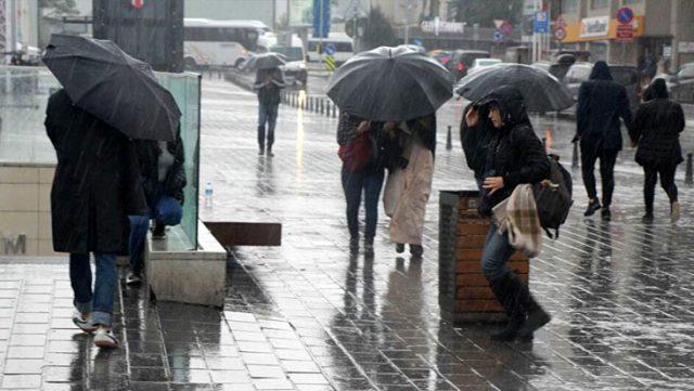 Meteoroloji'den 13 il için gök gürültülü sağanak yağış uyarısı
