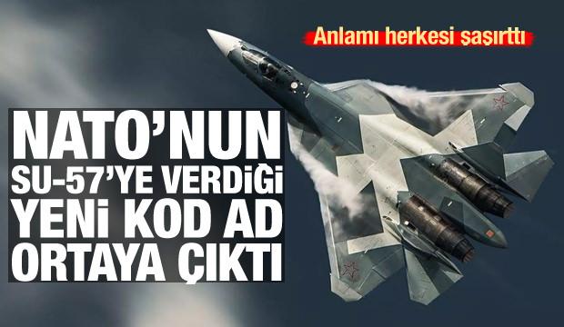 NATO'nun Su-57'ye verdiği yeni isim belli oldu! Anlamı şaşkına çevirdi