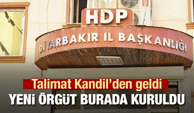 PKK yeni örgütü burada HDP binasında kurdu