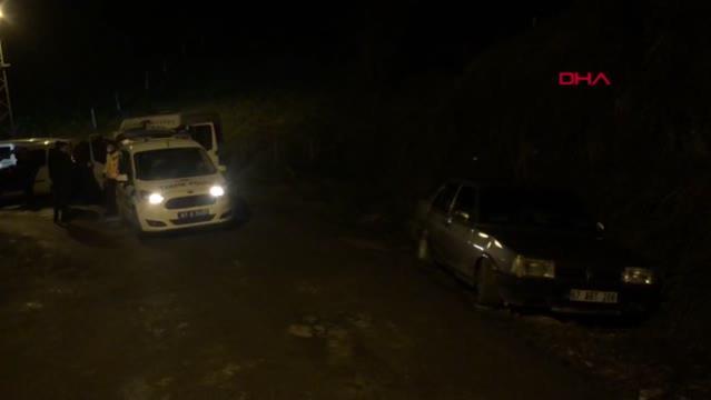 Polisten kaçan gençler kaza yapınca yakalandı;