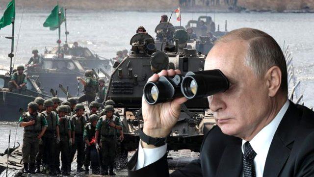 Putin'den 150 bin askere sürpriz talimat! Beş günlük dev askeri tatbikat başladı