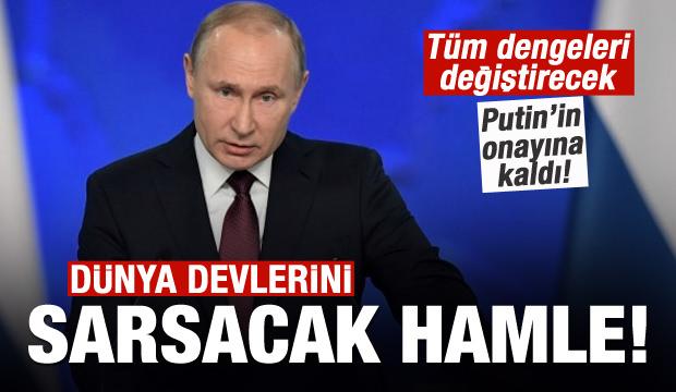 Rusya'dan dünya devlerini sarsacak hamle!