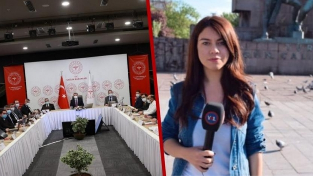 Sağlık Bakanı Koca'ya soru sormasına izin verilmeyen muhabire ikinci şok