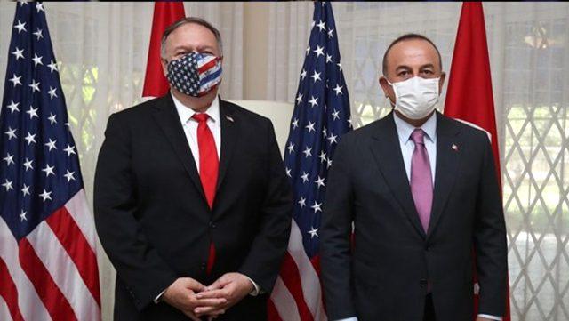 Son Dakika: ABD'li mevkidaşı Pompeo ile görüşen Dışişleri Bakanı Çavuşoğlu, Biden'in skandal sözlerine sert tepki gösterdi
