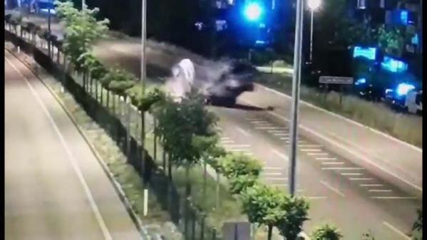 Son dakika! Çanakkale'de trafik kazasında şehit olan polis memuru için tören (2)