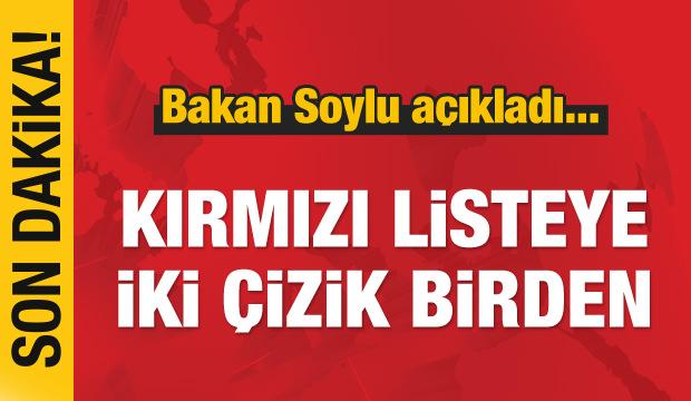 Son dakika haber: Diyarbakır'da kırmızı listeye 2 çizik