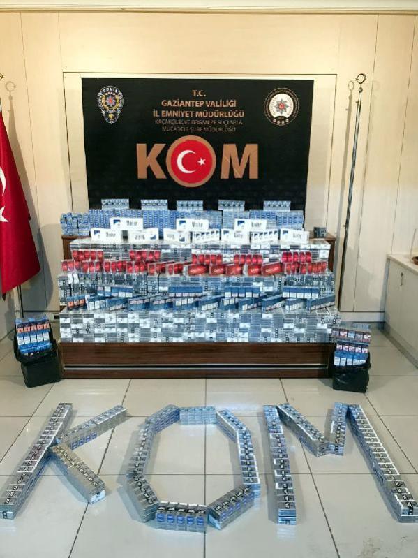 Son dakika haberi: Gaziantep'te kaçak sigara operasyonu