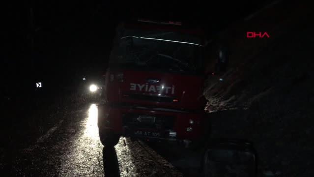 Son dakika haberleri! Yangına giden itfaiye aracı kaza yaptı 5 yaralı