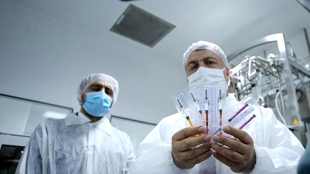 Son Dakika: Yerli koronavirüs aşısında gönüllülere ikinci doz uygulaması başladı