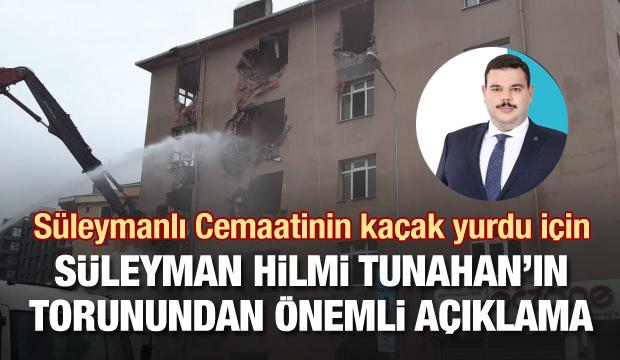 Süleyman Hilmi Tunahan'ın torunu Denizolgun: Yurt kaçak ve riskliydi