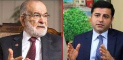 Temel Karamollaoğlu'ndan dikkat çeken Demirtaş açıklaması: Böyle hukuk olur mu?