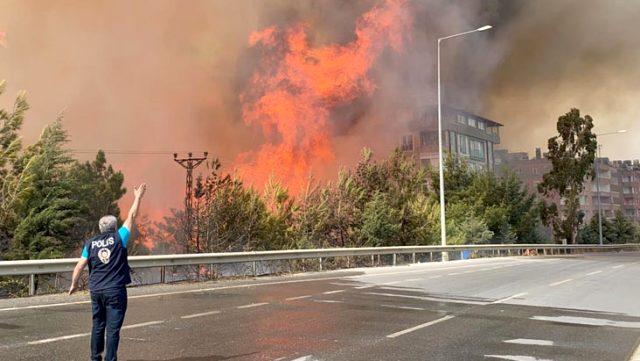 Terör örgütü PKK, Hatay'daki orman yangınını propaganda çalışmasına dönüştürdü