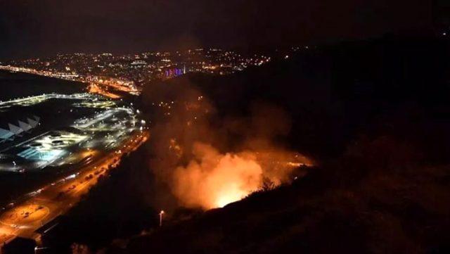Trabzon'da son 48 saatte 35 farklı noktada yangın çıktı