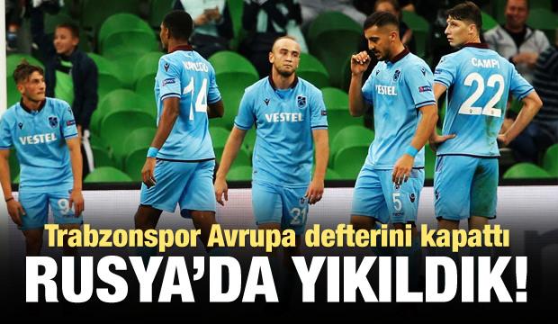 Trabzonspor Avrupa defterini kapattı!