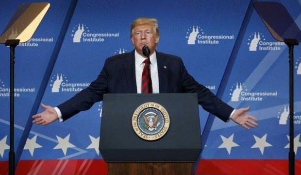 Trump üst üste açıklama yaptı. Kimse ne dediğini anlamadı