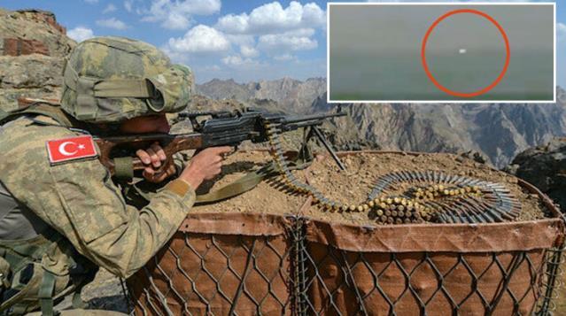 TSK, Gara'da teröristleri böyle vurdu! İşte sıcak çatışma anından ilk görüntüler