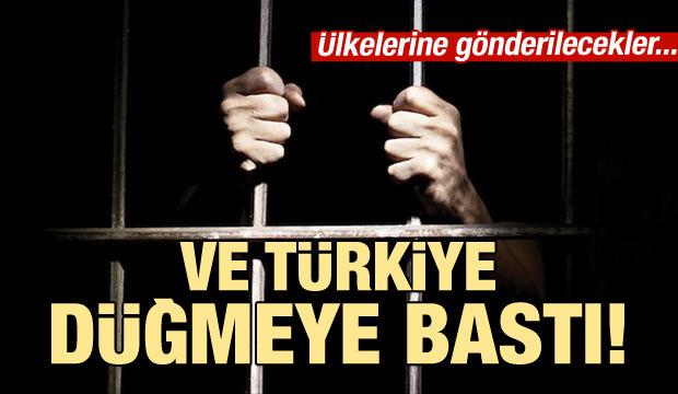 Türkiye düğmeye bastı!  DAEŞ'liler ülkelerine gönderiliyor