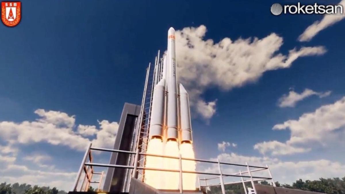Türkiye uzaya kendi gücüyle çıkacak! Roketsan geliştirdi: SAHA EXPO'da sergilenecek