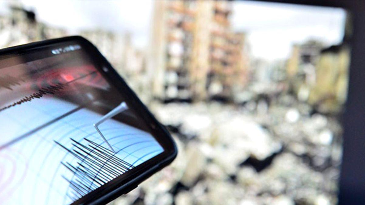 Urla açıklarında 4,1 büyüklüğünde deprem meydana geldi