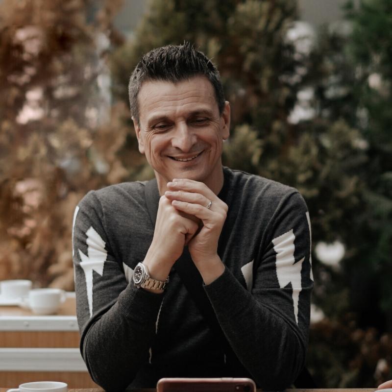 VakıfBank Spor Kulübü'nün sosyal medya hesaplarının  'This&That' serisinin ilk konuğu Giovanni Guidetti