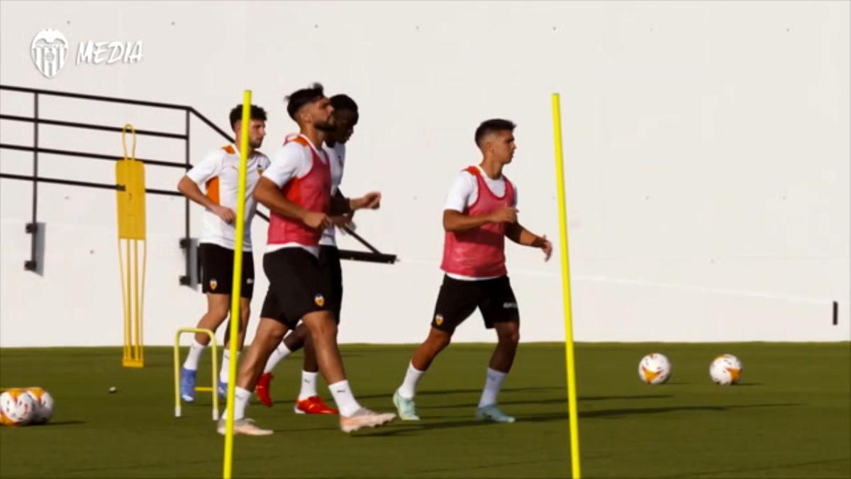 Valencia'nın AC Milan Hazırlıkları