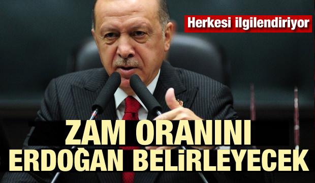 Yeniden değerleme zam oranını Cumhurbaşkanı Erdoğan belirleyecek