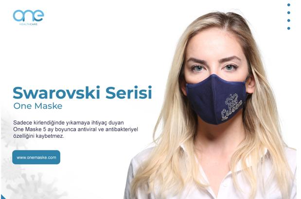Yüzde 100 Organik Pamuk Kumaş - Antiviral Antibakteriyel Maske, One Maske!