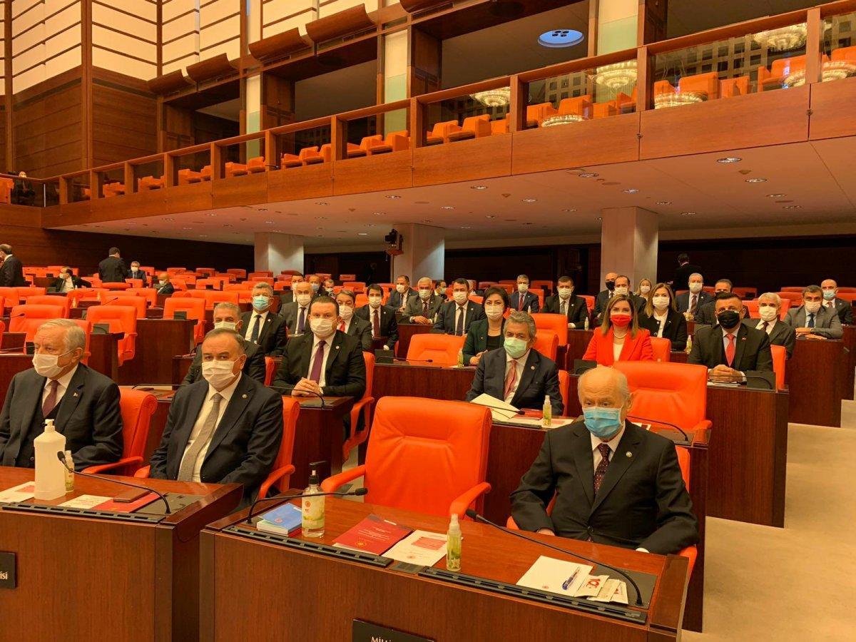 Devlet Bahçeli, 2021 bütçe görüşmeleri için Meclis te #1