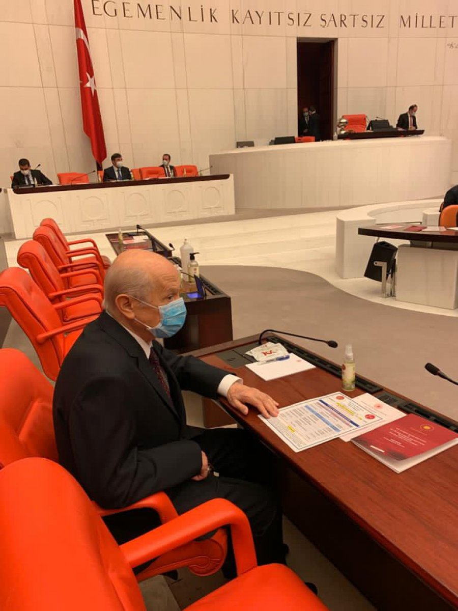Devlet Bahçeli, 2021 bütçe görüşmeleri için Meclis te #4