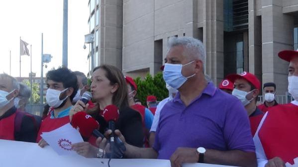 DİSK yöneticilerine açılan 1 Mayıs davası başladı