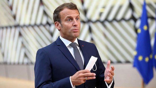 Doğu Akdeniz'de Türkiye'ye Kırmızı çizgi politikası uyguladığını savunan Macron'a AK Parti'den sert tepki: Aynen iade ederiz