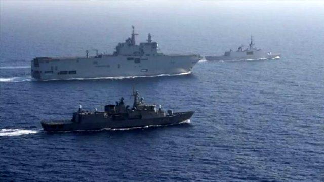 Doğu Akdeniz'deki Yunanistan-Fransa ortak tatbikatına ABD'den ilk yorum: Endişe duyuyoruz